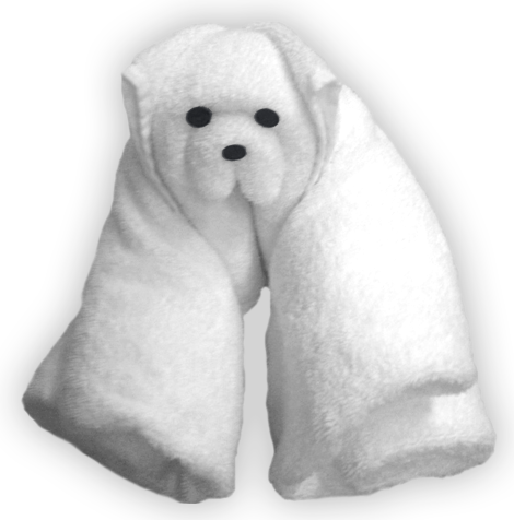 Polar Bear Towel Animal